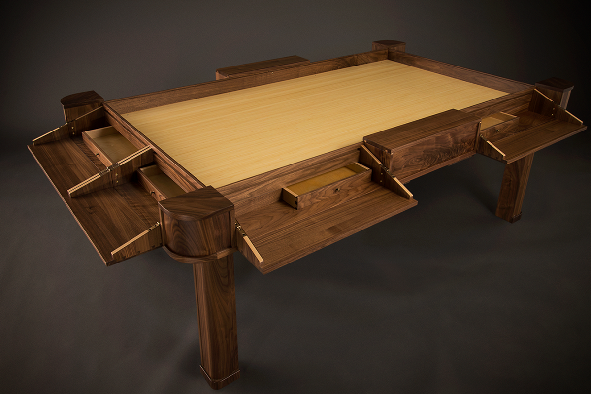 Vizier Gaming Table Legendary Table Games Board Game Table Board Games