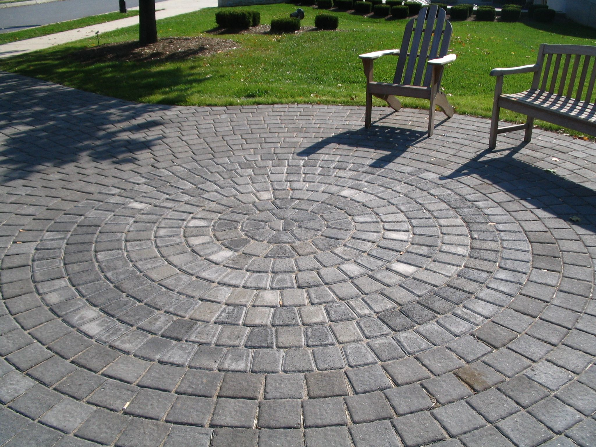 Oxford Circle Pavers Nitterhouse Masonry