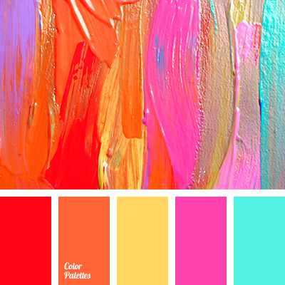 The Palette Is A Mix Of Cold And Warm Hues With A Help Of