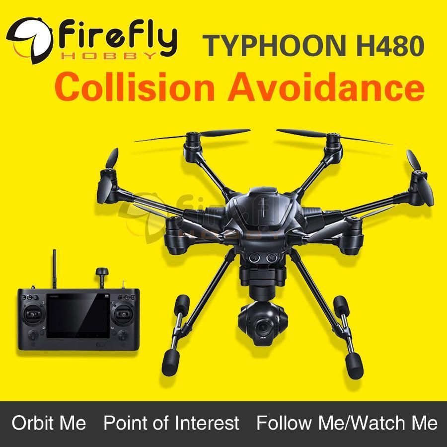 YUNEEC Typhoon H480 Hexacopter Intelligent Aerial Photography Drone 4K UAV Multicopter Obstacle-Avoidance