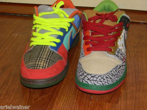 7e42f6b85a Nike SB Dunk Low What The Dunk size 11 RARE Sz 100% REAL yeezy air ...