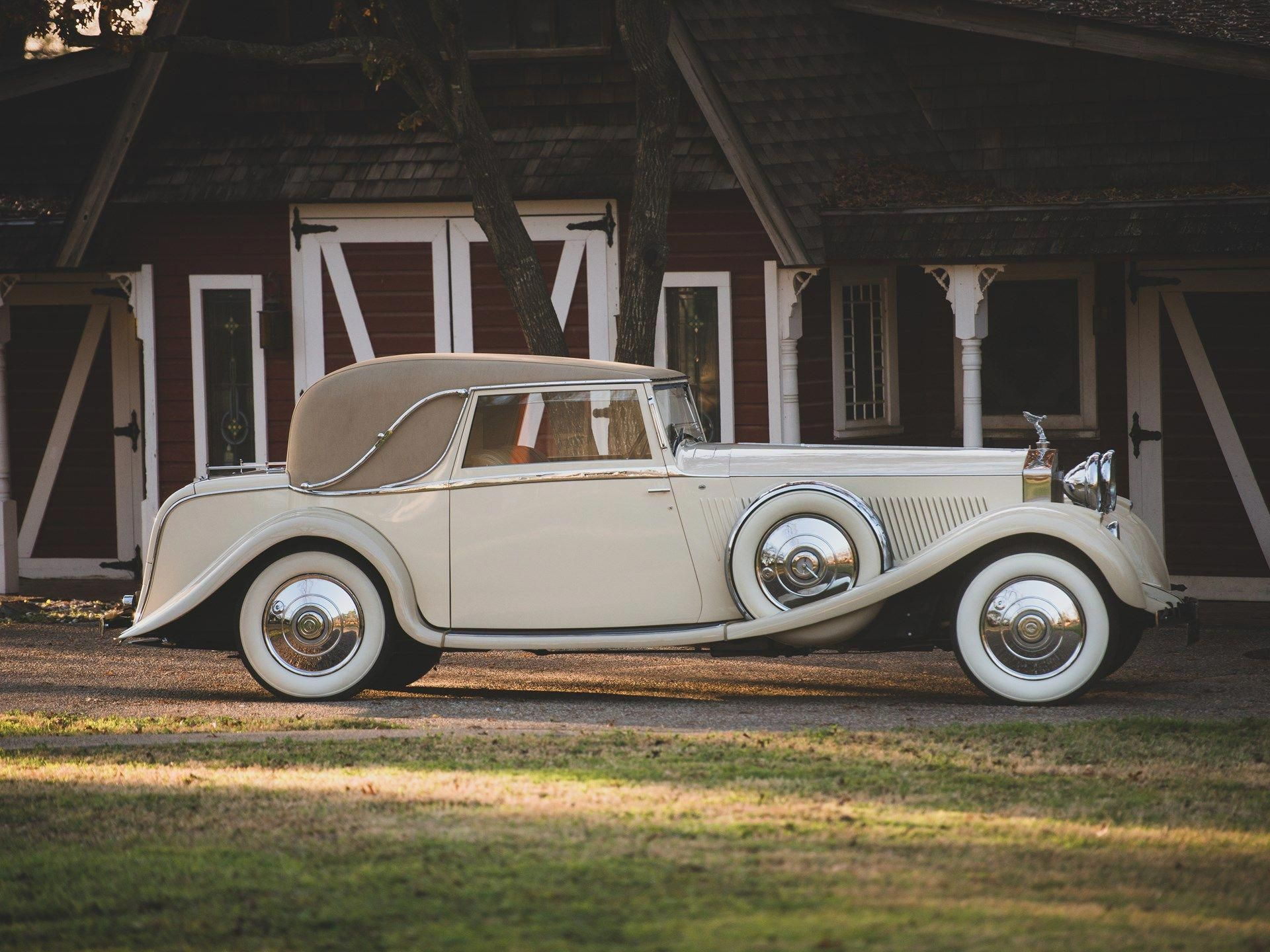1934 Rolls Royce Phantom Ii Continental Close Coupled Saloon By