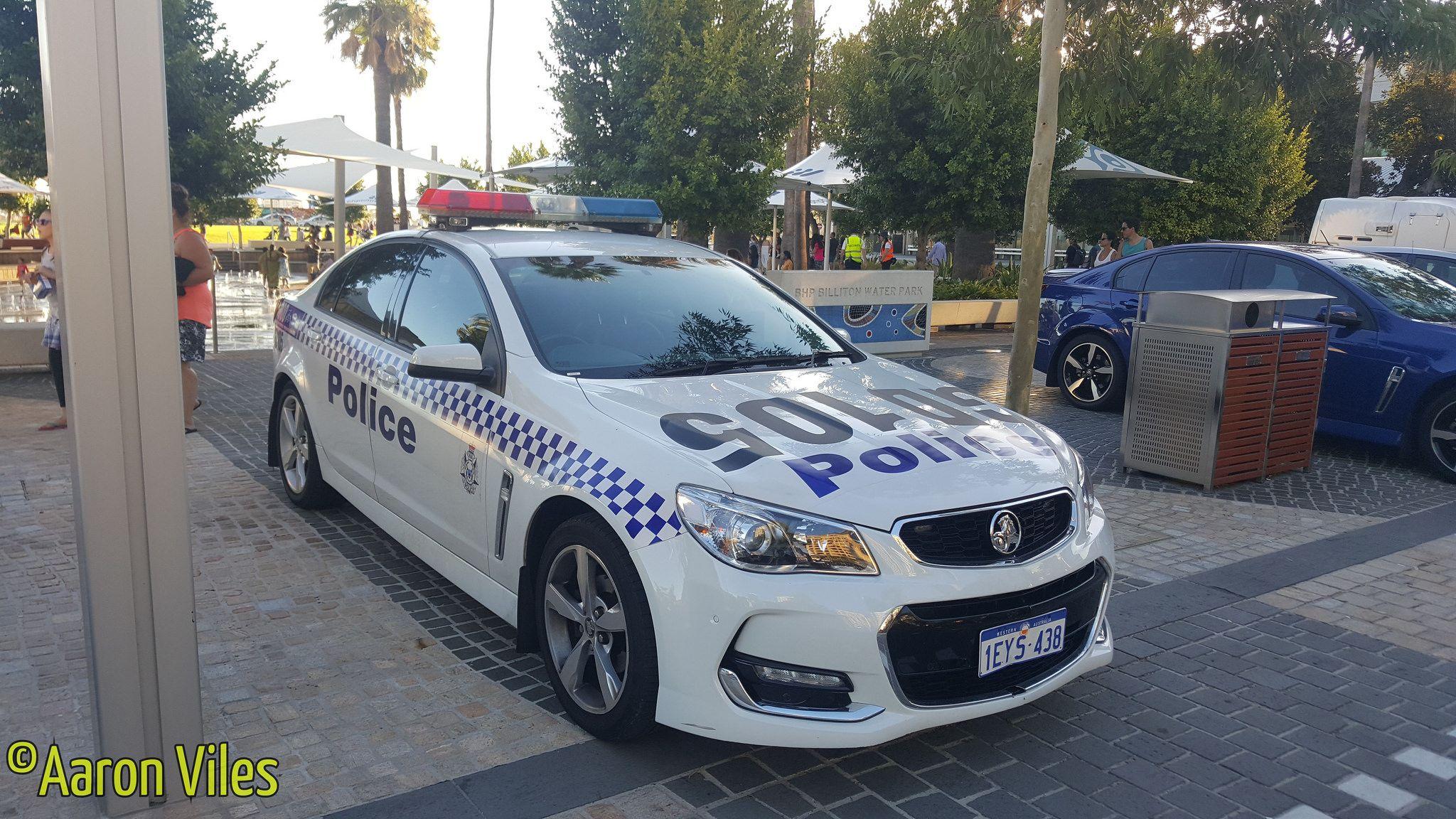 Western Australia Police Police Cars Western Australia Holden