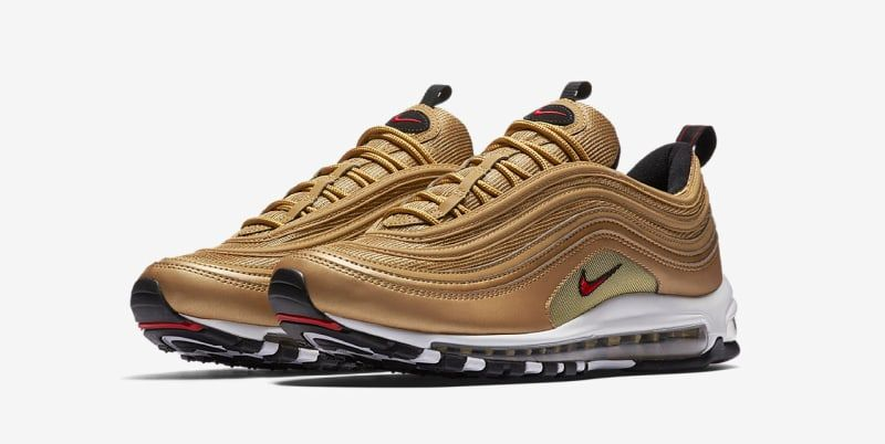Nike Air Max 97 'Metallic Gold' Nike Gold Air Max