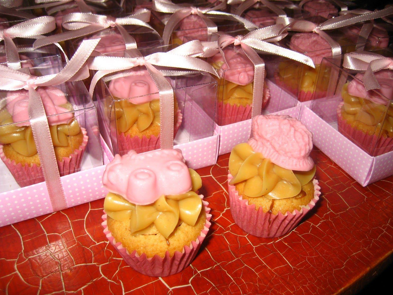 cupcake para lembrança de maternidade!