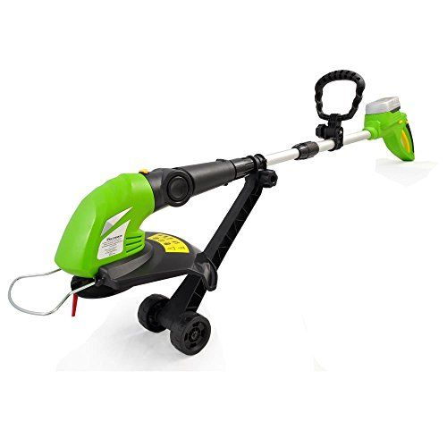 SereneLife Cordless Weed Eater Grass Trimmer Edger Electric