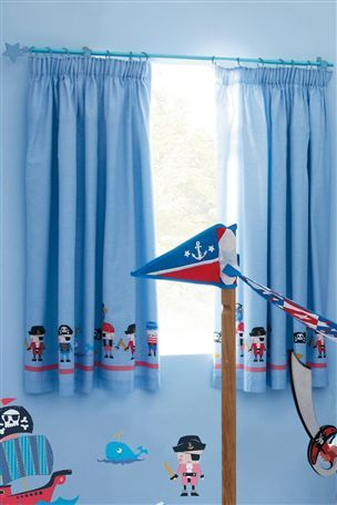 High Quality Buy Pirate Pencil Pleat Curtains From The Next UK Online Shop