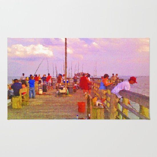 Pier Fishing Rug