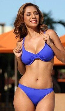 Full cut underwire bikini tops