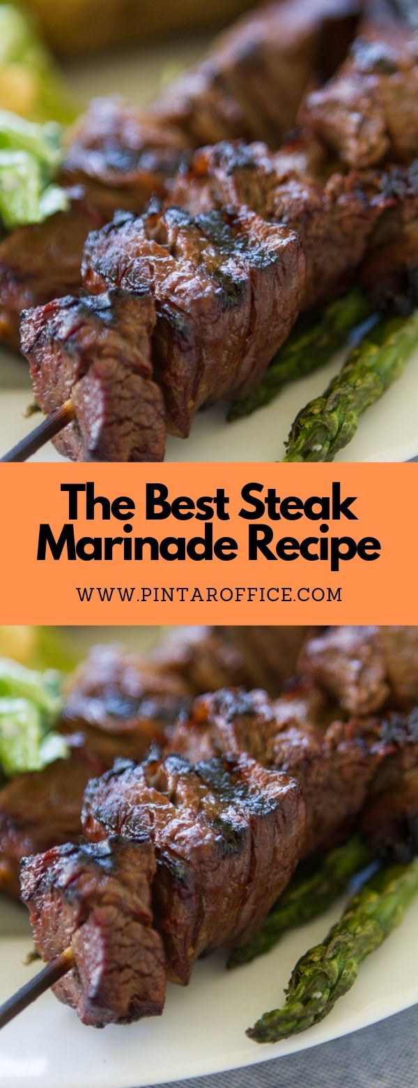 The Best Steak Marinade Recipe #dinner #grillingsteak #steakmarinade #marinadeforbeef