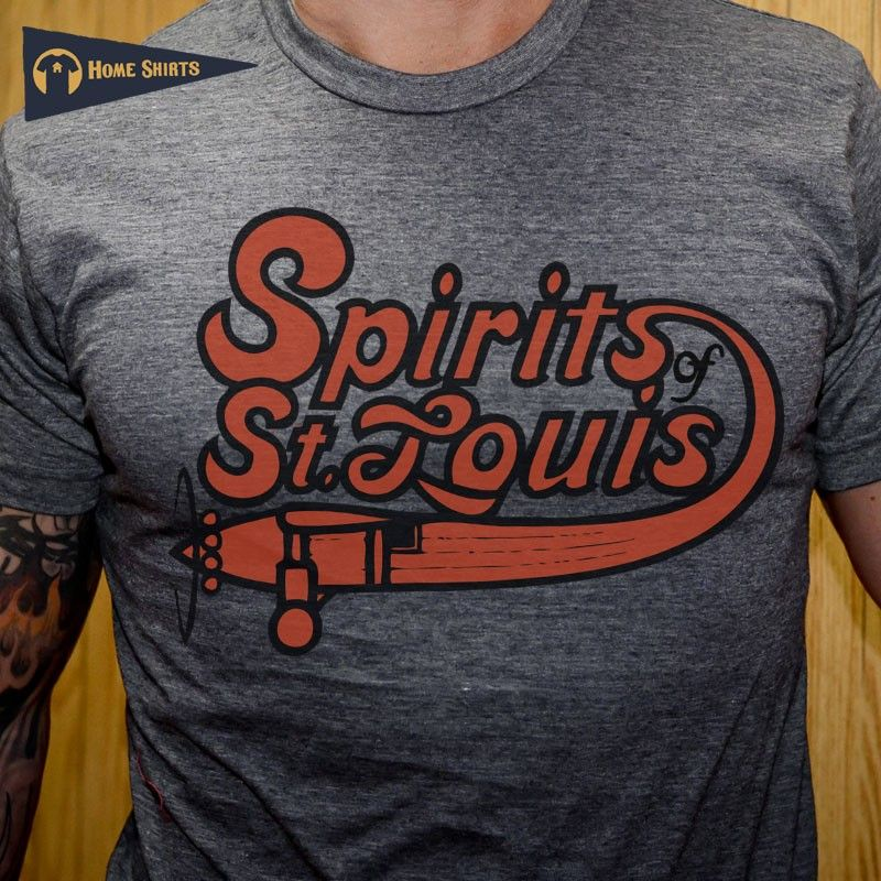 spirits of st louis t shirt, defunct basketball teams