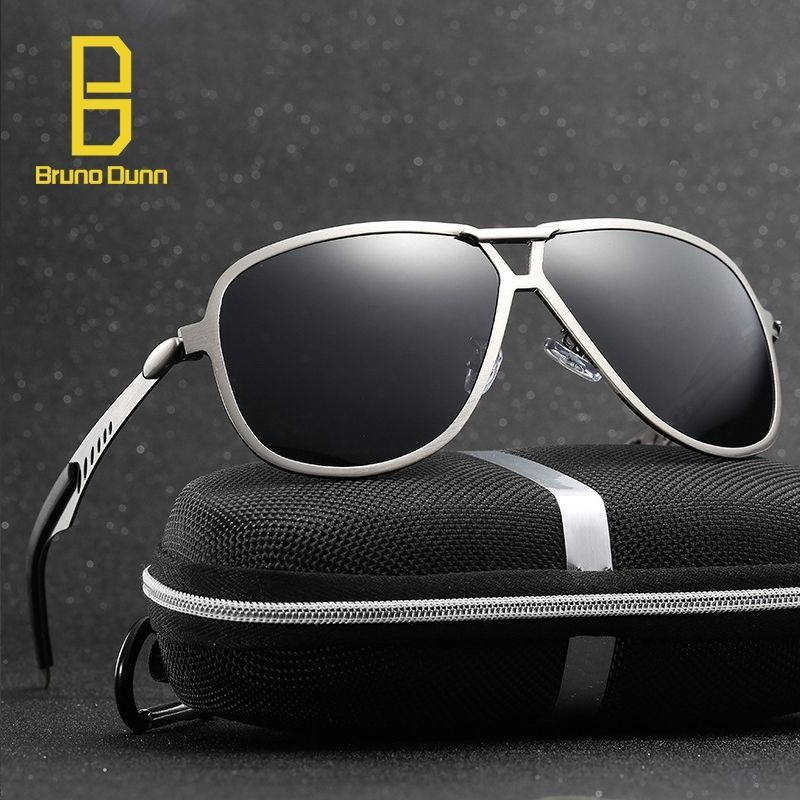 5d1eb0a9343c9 New HD Polarized Men Sunglasses 2017 Sun Glases Male Vintage Brand Designer oculos  de sol masculino