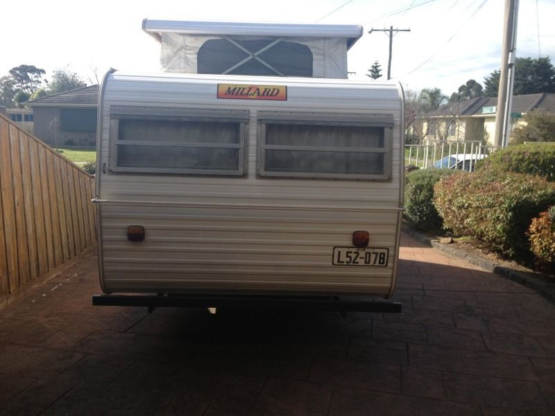 14 ft pop top Millard caravan | Caravan | Gumtree ...