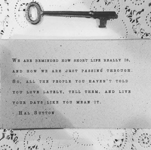 Just live #HalButton
