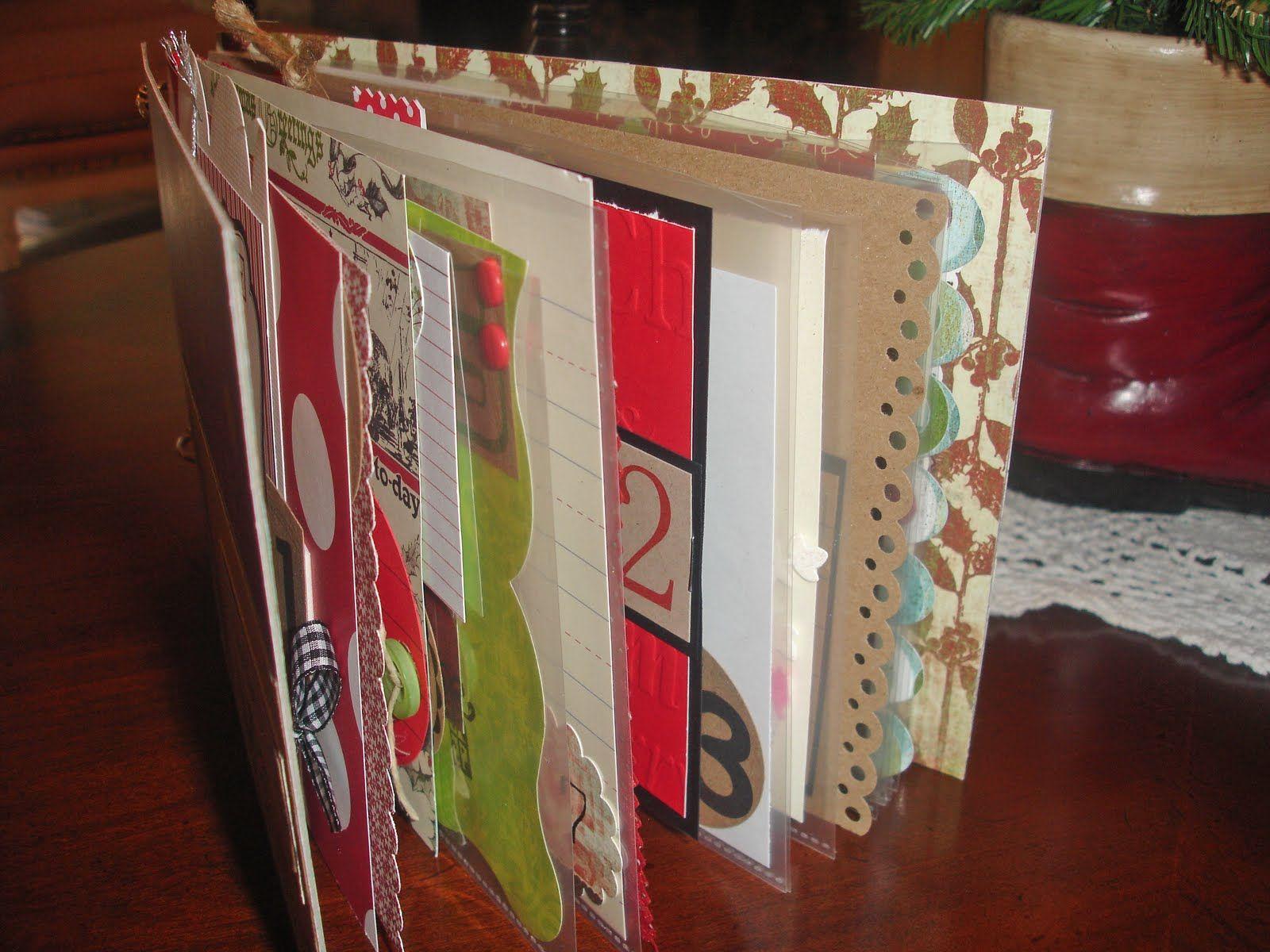 christmas scrap book