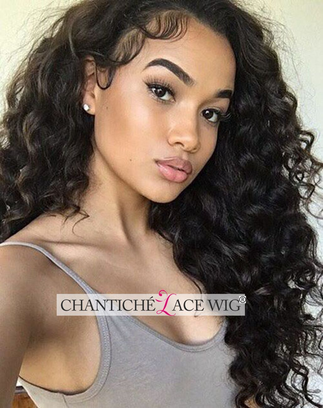 6a human hair curly wig indian remy hair lace front/full