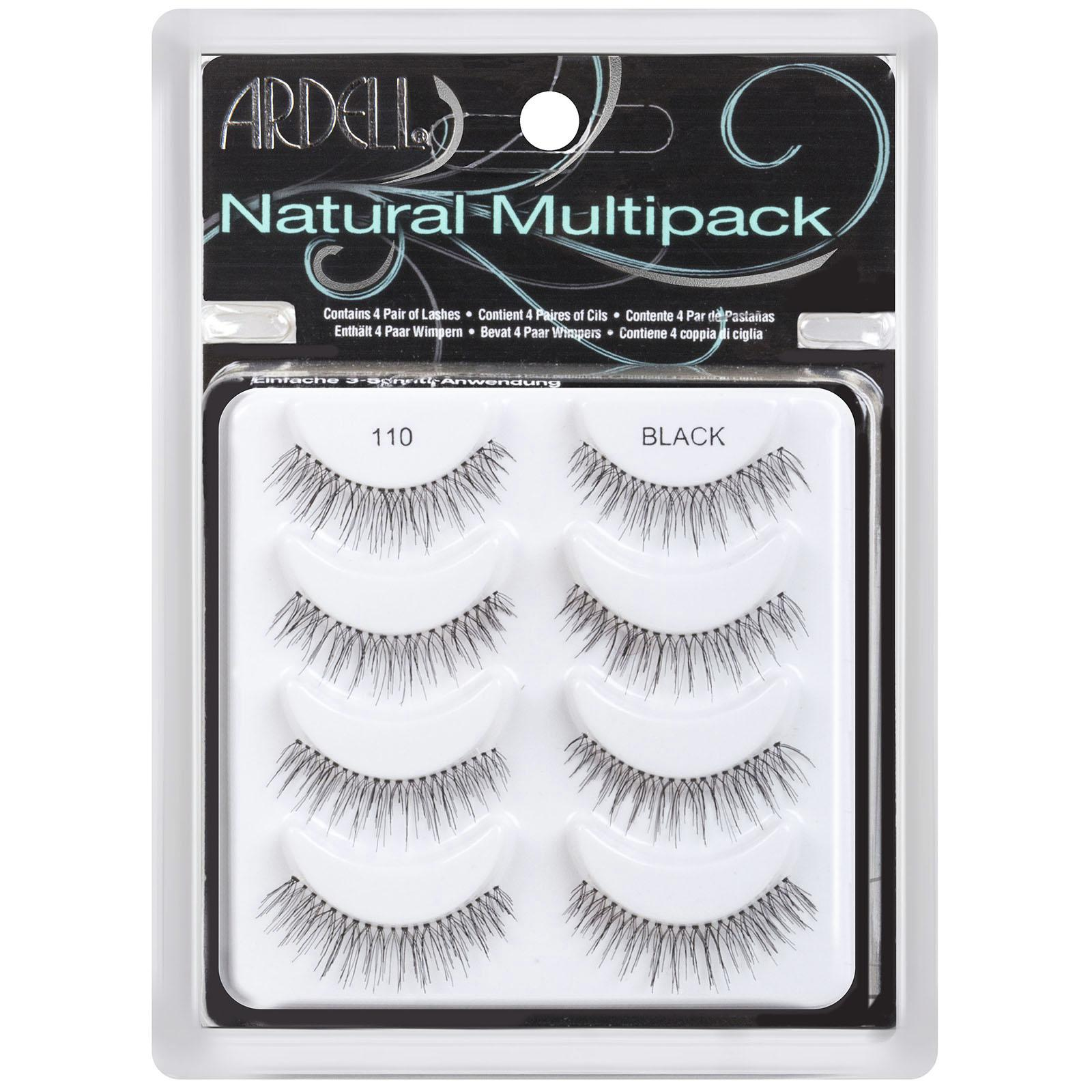 Ardell Professional Glamour Multipack 110 Black 4 Pairs