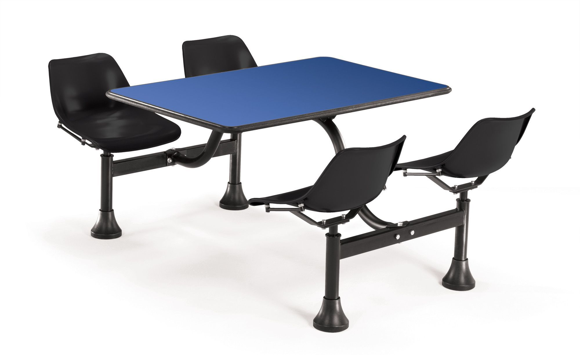 Group Cluster Table And Chairs 65 X 48 Rectangular Cafeteria Table Cafeteria Table Table Chairs Furniture