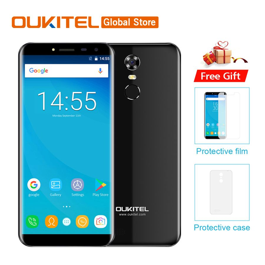 Oukitel C8 5 5 Hd Android 7 0 2gb Ram 16gb Rom Mobile Phone T