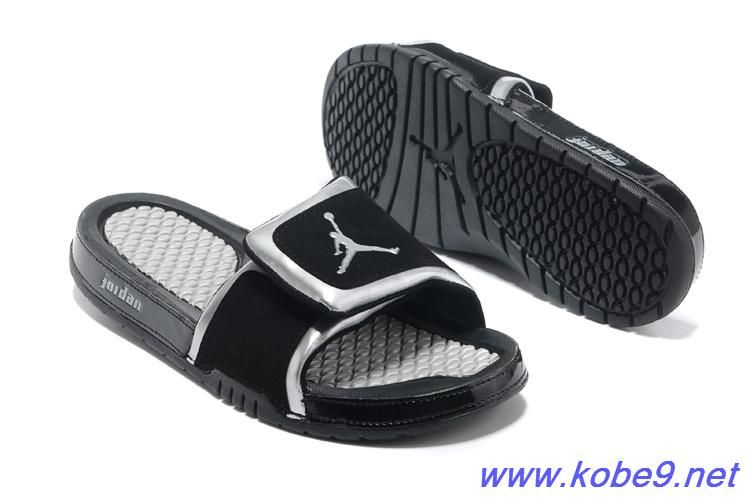d32ba9908fbe Cheap Nike Jordan Hydro 2 Slide Sandal Black Silver White For Wholesale