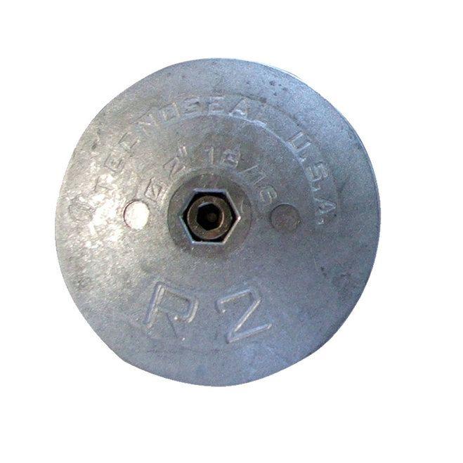 Tecnoseal R2AL Rudder Anode - Aluminum - 2-13/16