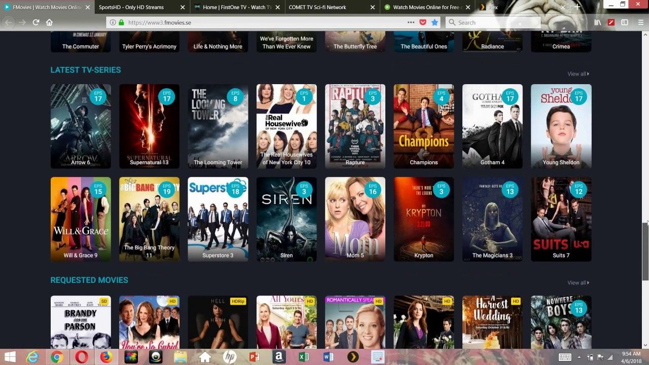TOP WEBSITES TO WATCH FREE MOVIES & TV SHOWS FOR FREE ANY