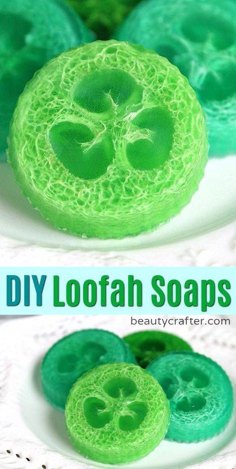 DIY Loofah Soap Recipe - Easy to Make Luffa Soap