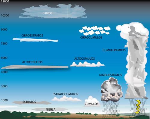 Sabes Cómo Identificar Las Nubes Noticias De El Tiempo Tipos De Nubes Nubes Experimentos Para Niños