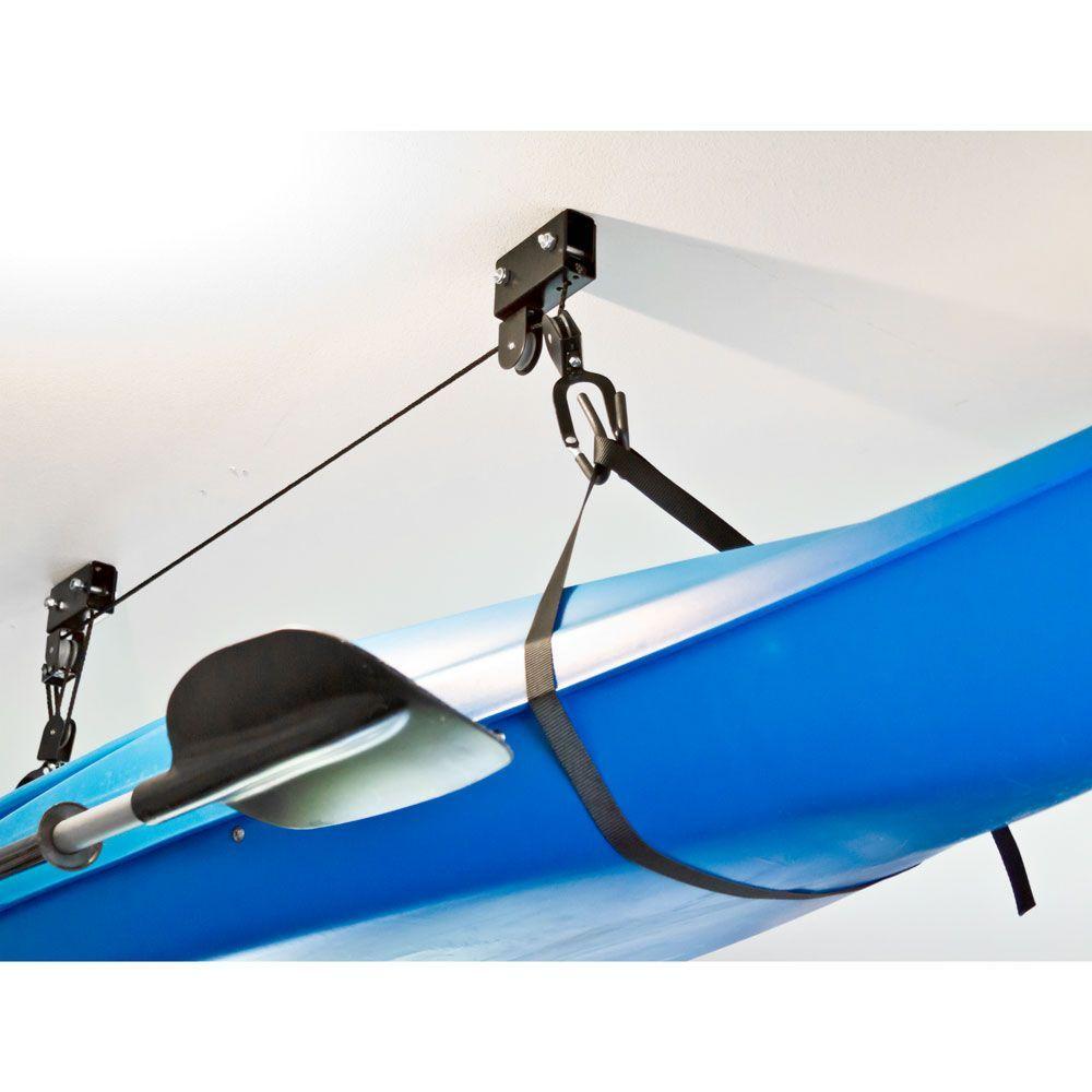 Apex Kayak and Canoe Storage Hoist in 2020 Canoe storage