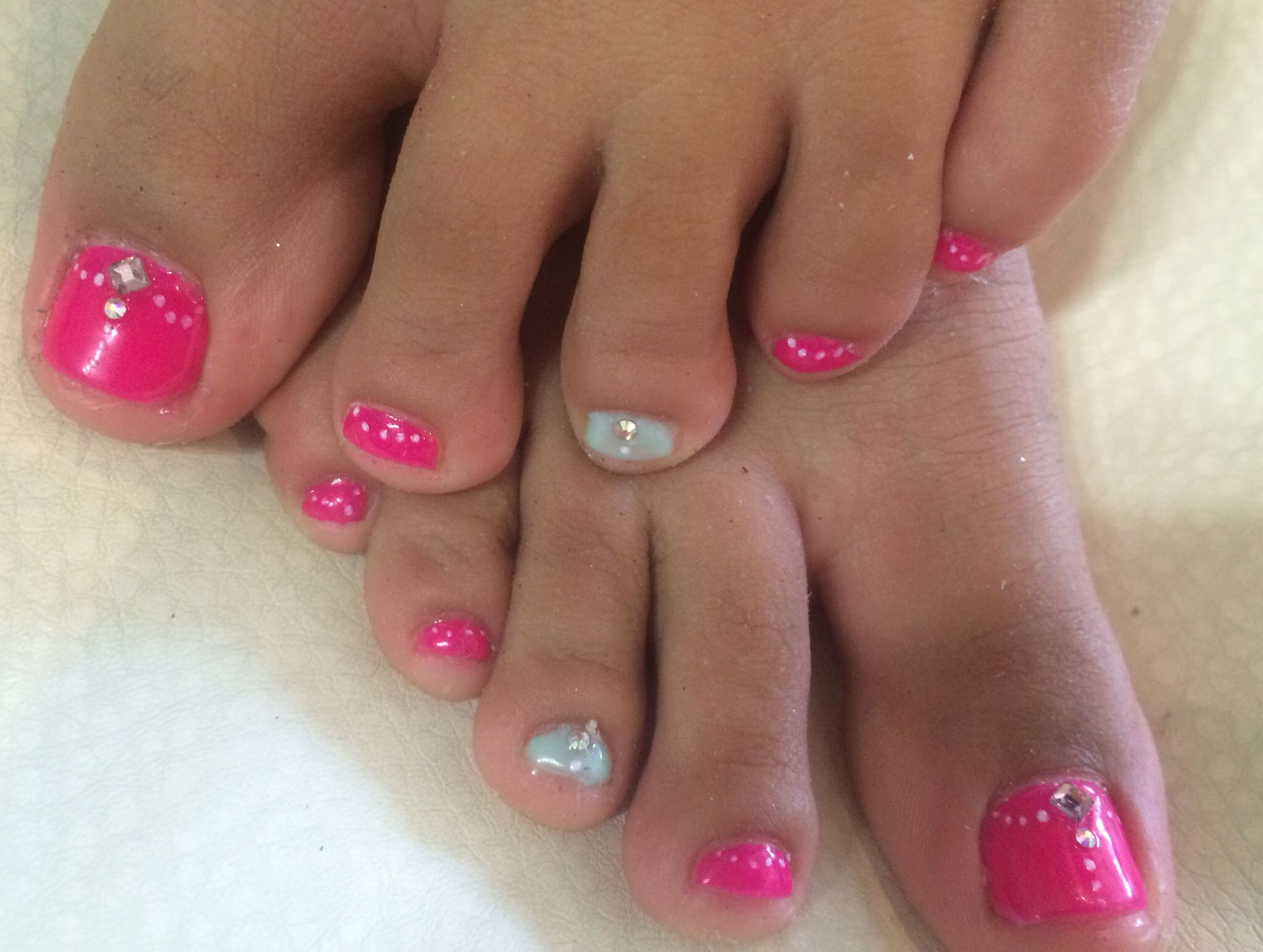 Uñas de pies decorados, para niñas, nails toes | Nails ❤ | Pinterest