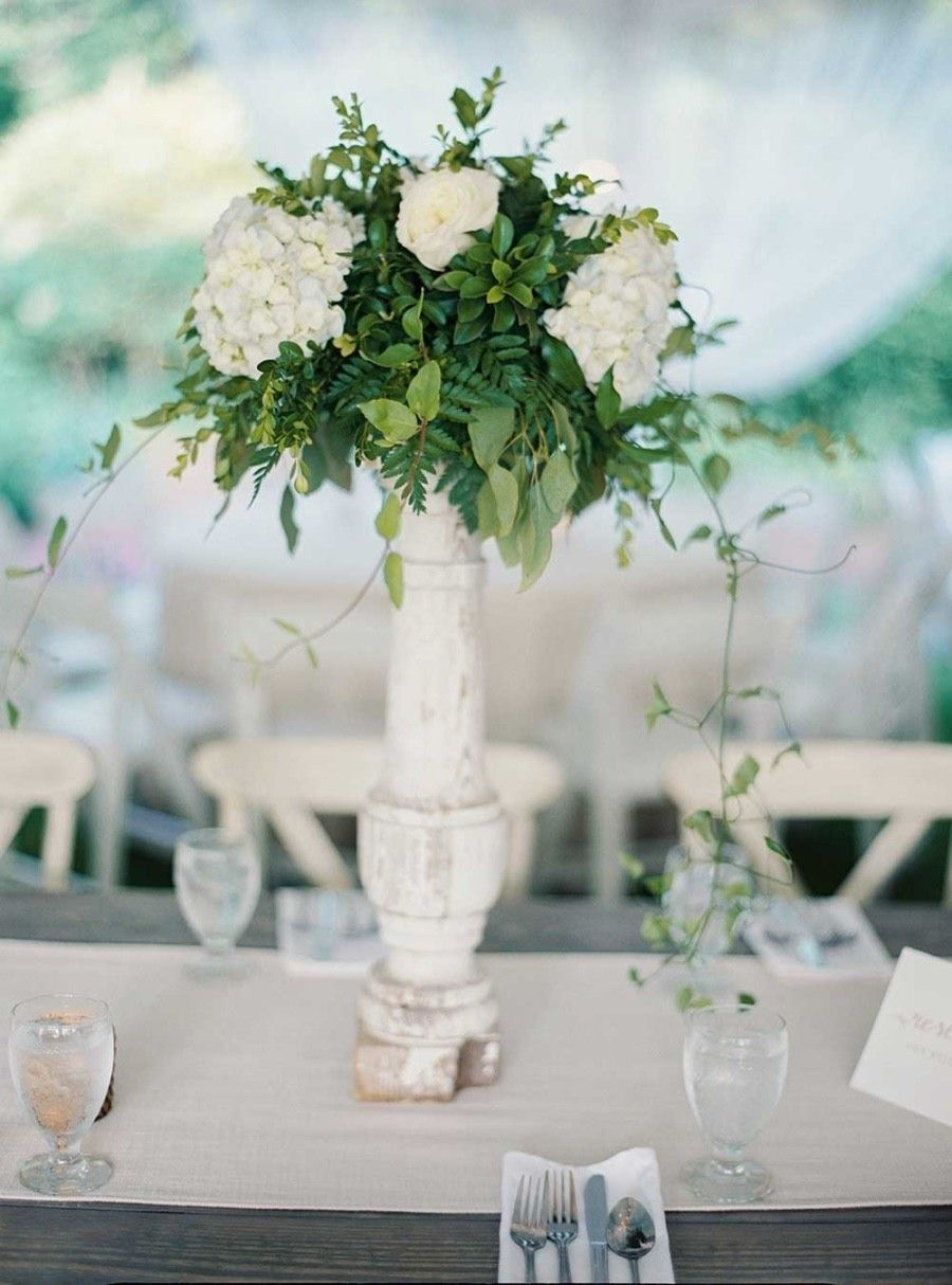 Charming Georgia Wedding With Romantic Dusty Blue Details ...