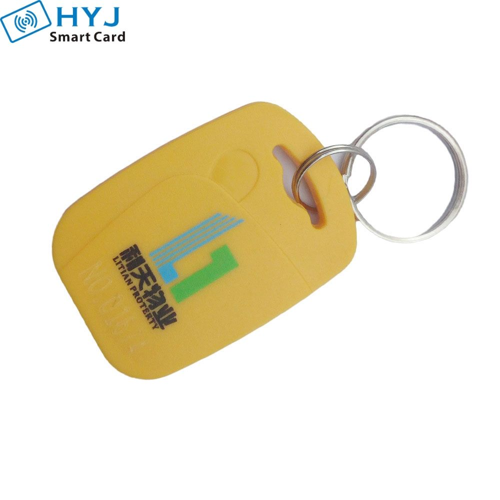 Abs Material Programmable Rfid Keyfob Access Control Rfid