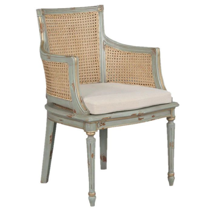 Directoire Arm Chair In Blue Pinterest Arms Apartment