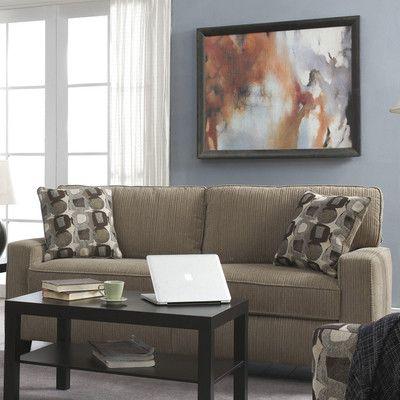 Serta at Home Santa Cruz Sofa & Reviews   Wayfair