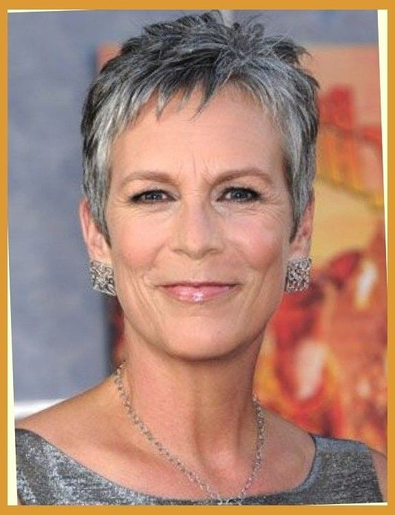 26 Adorable Jamie Lee Curtis Hairstyle In 2020 Super Short Hair Hair Styles For Women Over 50