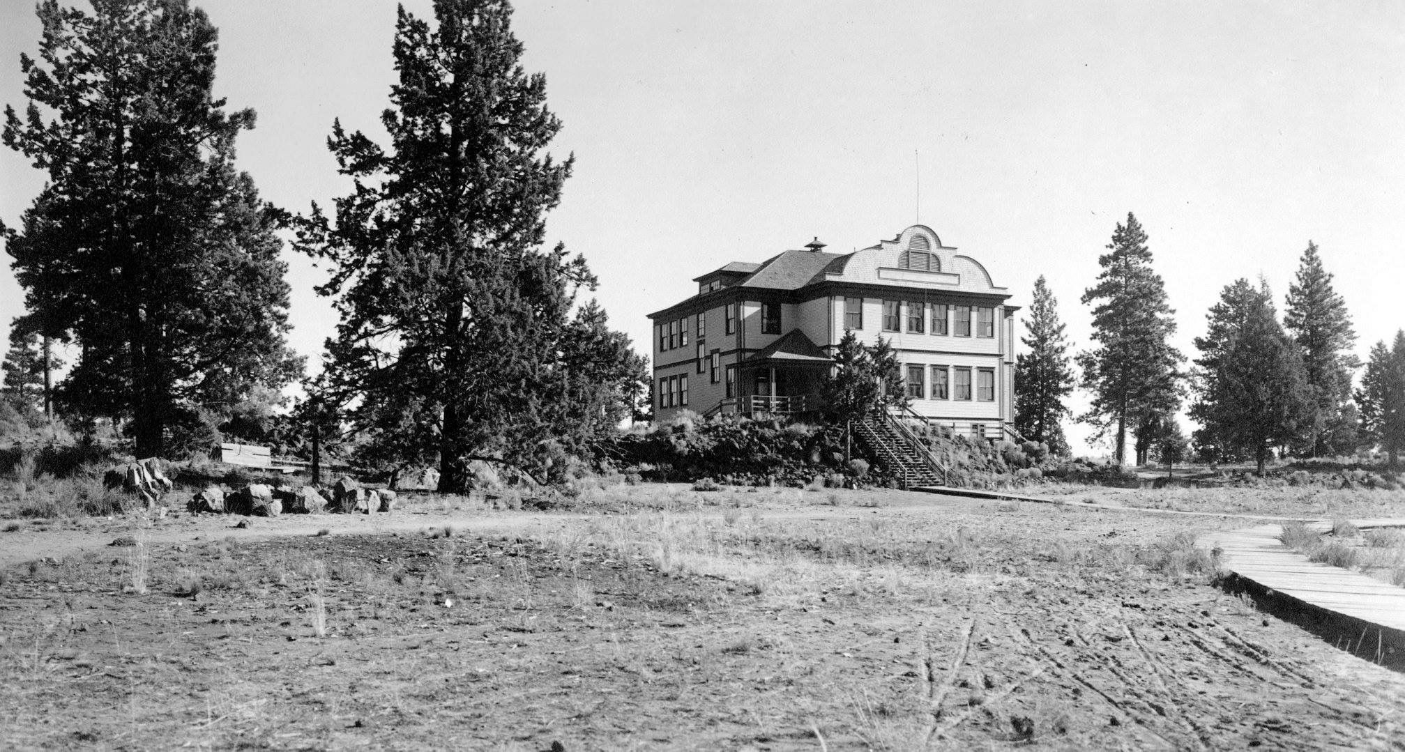 Bend high school with images old photos historical