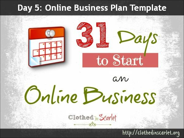 Day 5 Online Business Plan Template {Free Download Business - retail business plan template