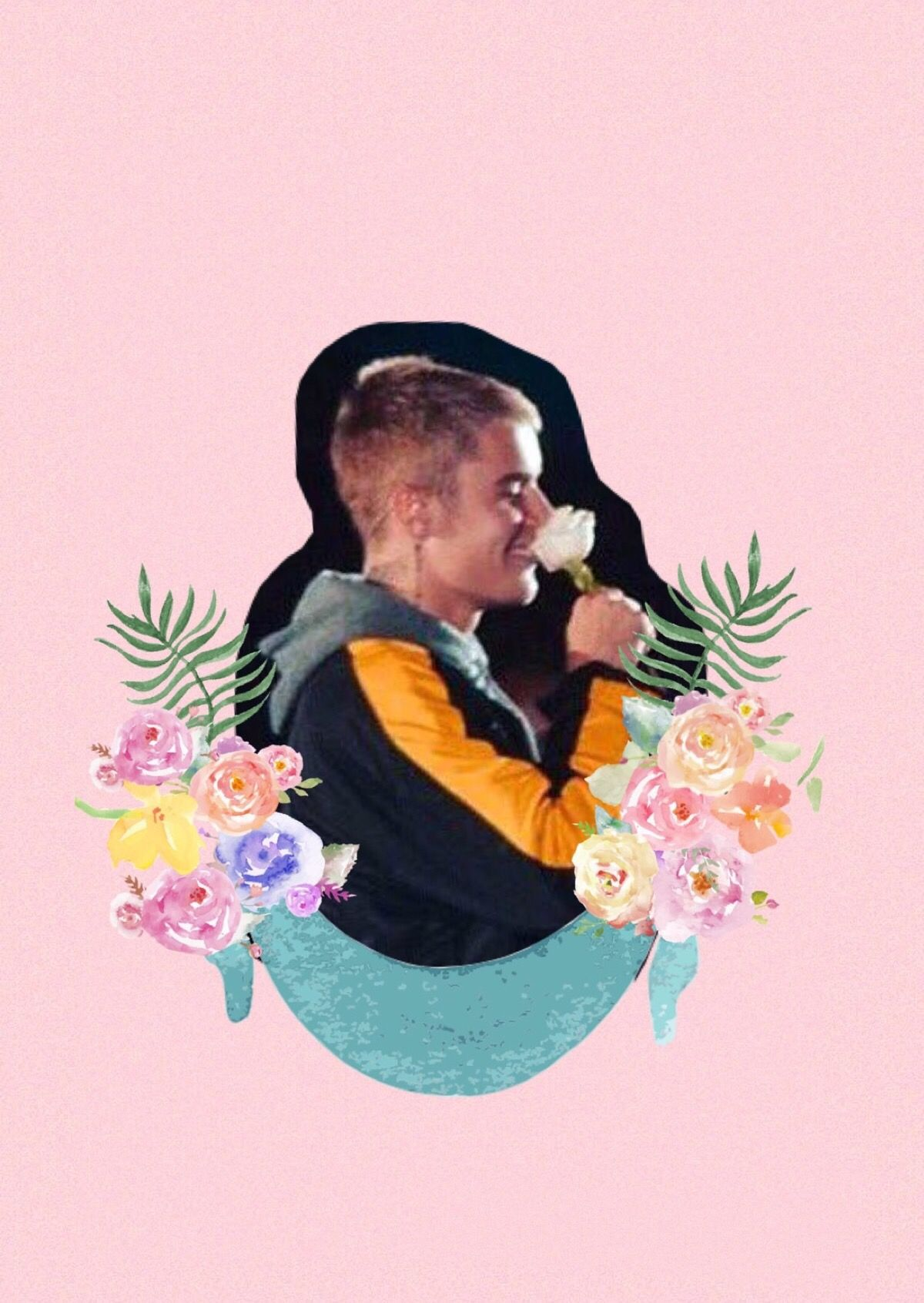 Justin iphone wallpaper tumblr - Justin Bieber Lockscreen Wallpaper Pink Iphone Tumblr Roses