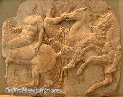 Horesemen Detail From The Parthenon Frieze Marble 440 Bce Acropolis Museum Ancient Greek Art Greek Art Parthenon Frieze