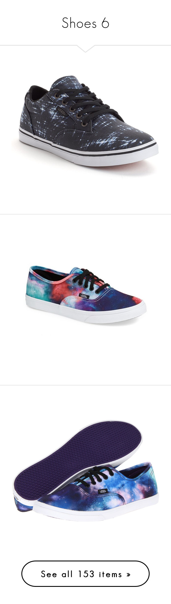 """""""Shoes 6"""" by wwetnagirl ❤ liked on Polyvore featuring shoes, sneakers, black, vans sneakers, star sneakers, lace shoes, lacing sneakers, vans trainers, vans and sapatos"""