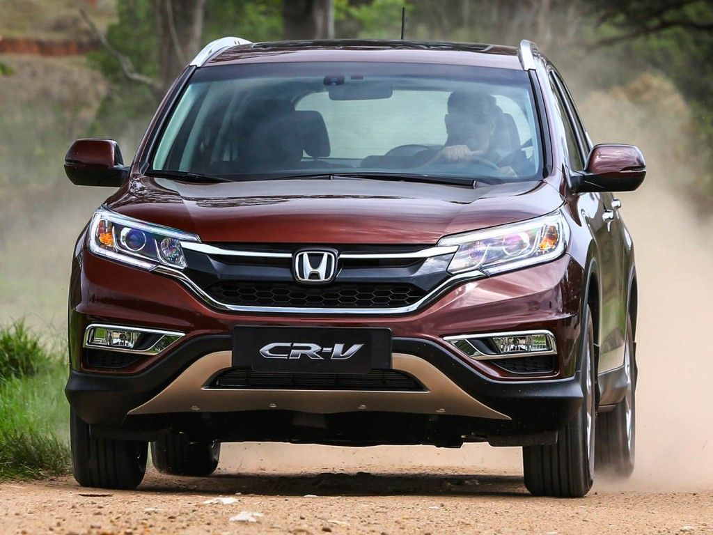 2017 Honda CRV front angle grille and headlights  Cool Cars