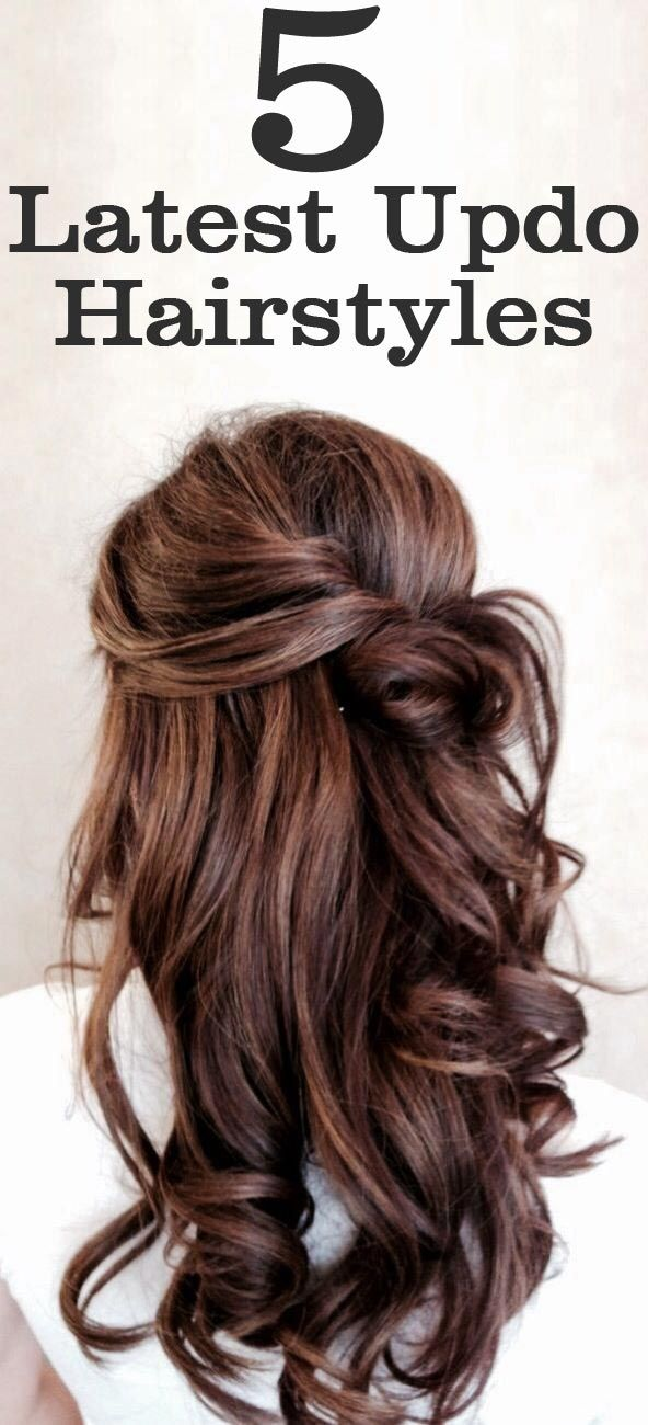 5 Latest Updo Hairstyles | Updo, Hair style and Bridesmaid hair