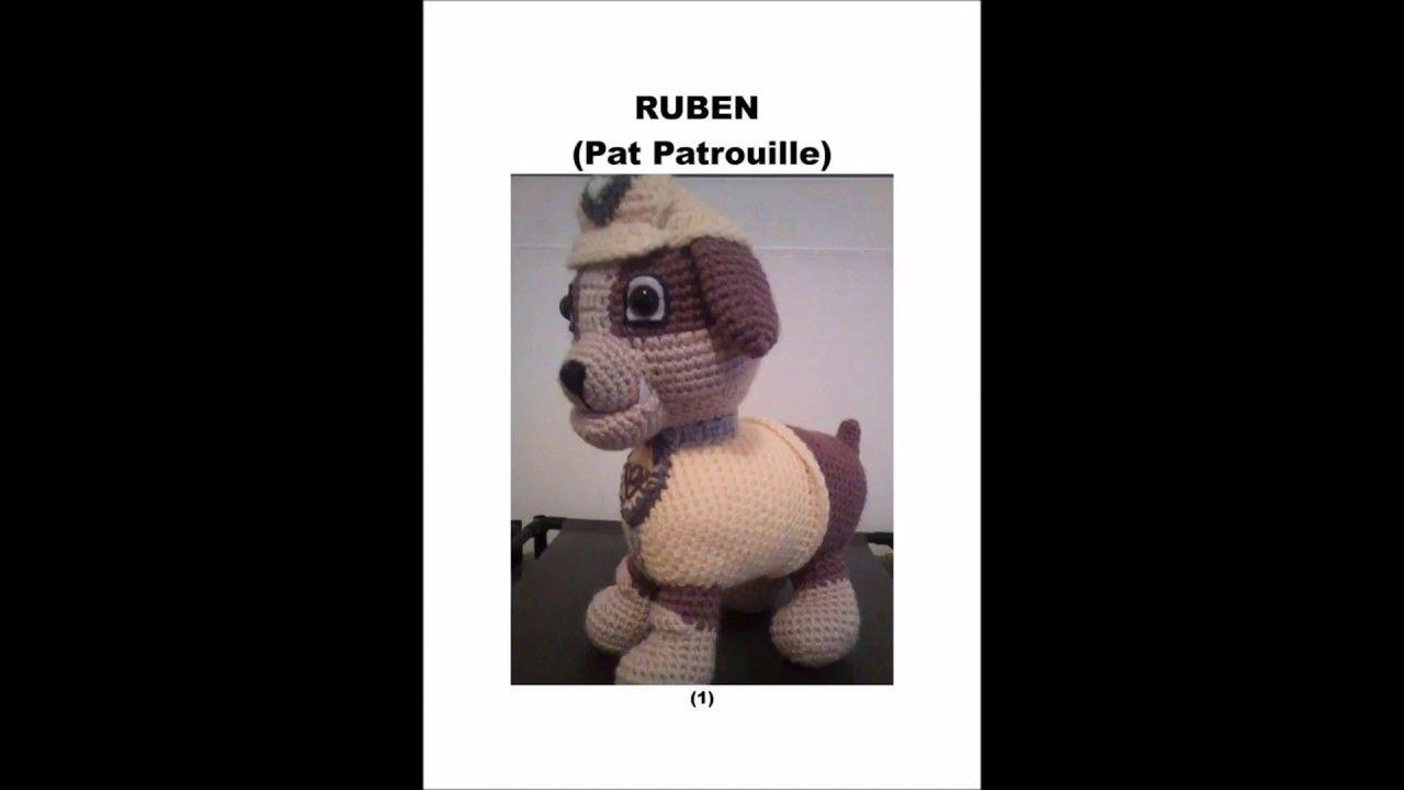 Ruben Pat Patrouille Au Crochet Personnages Dessins