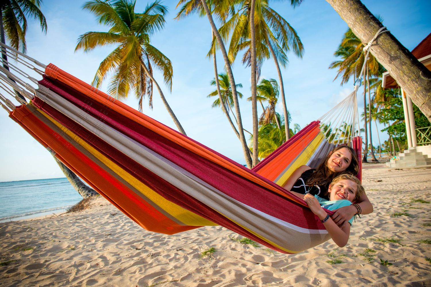 Medium image of amazonas barbados acerola  cosy  hammock  beach