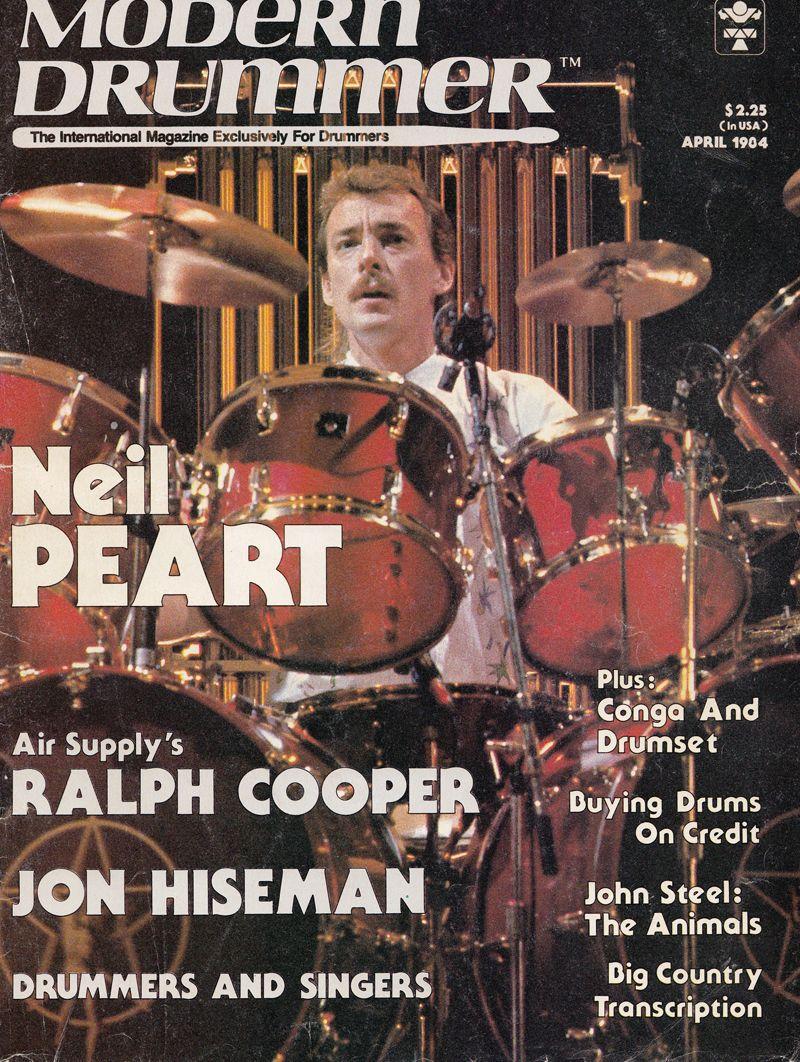 Neil Peart Signals Drums Modern Drummer Neil Peart Drummer