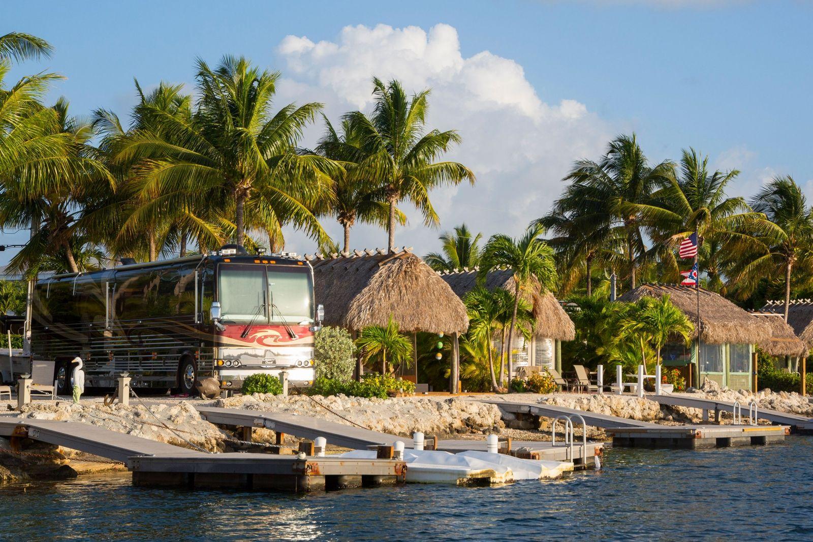 Blue Water Key West Floridaa Luxury RV Resort