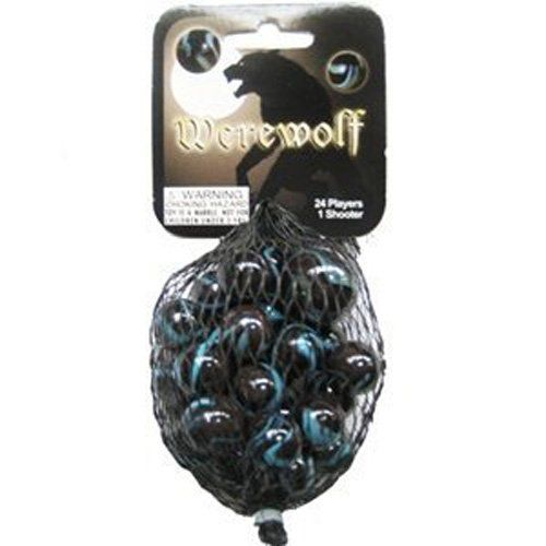 Mega Marbles Werewolf Marble Net 24 With Images Werewolf Marble Games Classic Toys