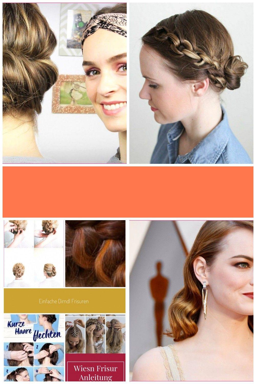 Dirndl Frisuren Kurzhaar 20er Jahre Haarschmuck Short Hair Styles Hair Jewelry Hair Styles