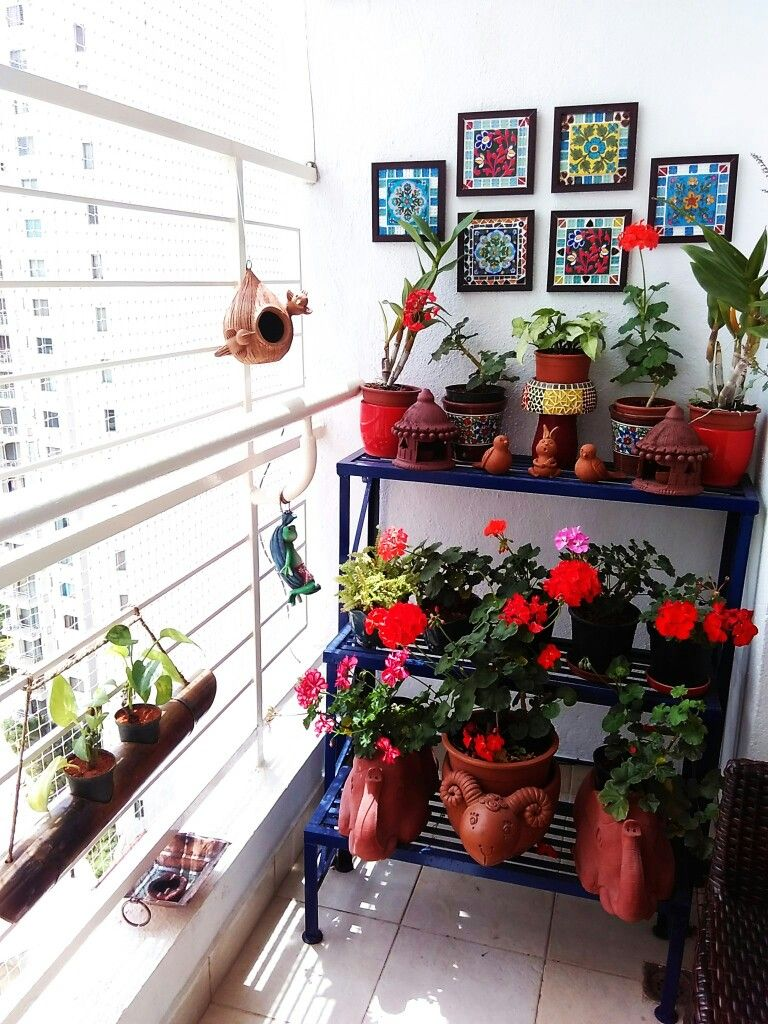 Balcony Garden My Bloomingdale Garden of 5 senses Pinterest
