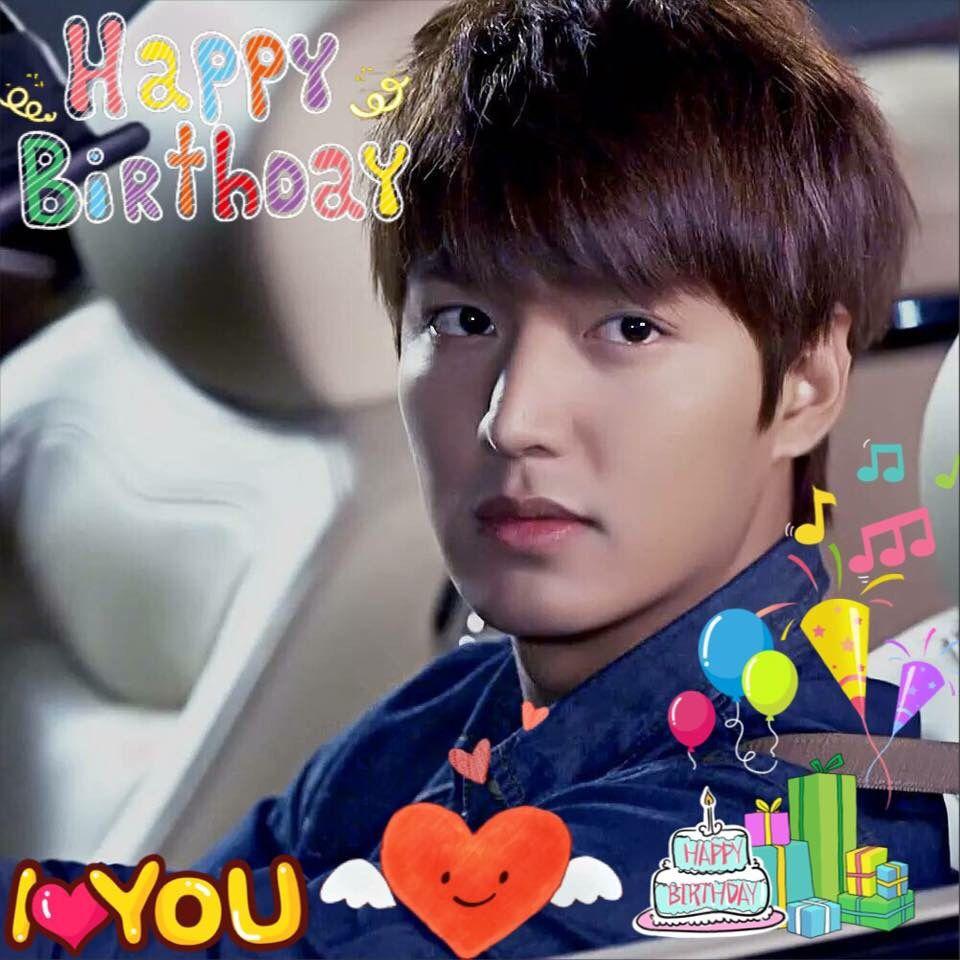 🎂🎉🎈🎁 happy birthday Lee Min Ho